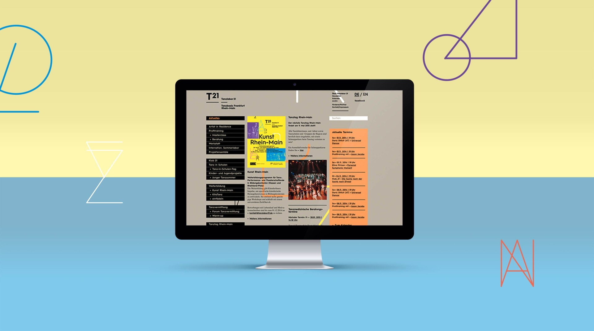 BUERO EILKS TANZLABOR 21  •  Corporate Identity | Corporate Publishing | Editorial | Veranstaltungskommunikation